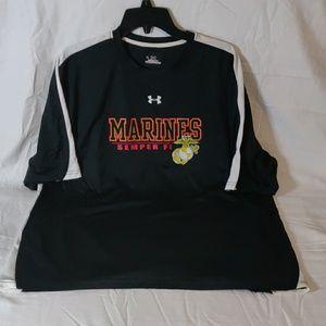 Under Armour Heat Gear Polyester Marine Shirt